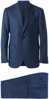Lardini notched lapel two-piece suit - men - Cotton/Polyester/Spandex/Elastane/Wool - 50