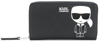 Karl Lagerfeld Paris Logo Purse