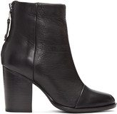 Rag & Bone Black Leather Ashby Boots