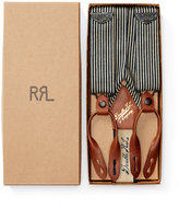 Ralph Lauren Hickory Stripe Cotton Braces