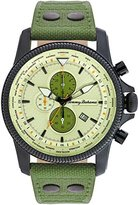 Tommy Bahama RELAX Men's 10024826 Paradise Pilot Dual Time Chronograph (Air) Analog Display Japanese Quartz Green Watch