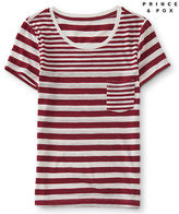 Aeropostale Womens Prince & Fox Striped Skinny Tee Shirt