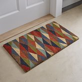 Crate & Barrel Multi Diamond Doormat