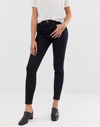 French Connection Thermal high rise skinny jeans