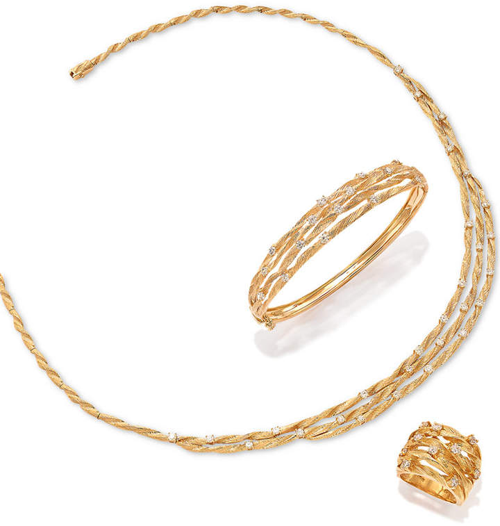 Effy D'Oro by Diamond Embellished Necklace (1-5/8 ct. t.w.) in 14k Gold