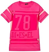 Diesel Pink Oversized Dress
