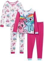 AME My Little Pony Pinkie Pie & Rainbow Dash Cotton PJs - Set of 2 (Little Girls & Big Girls)