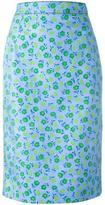 Prada floral print skirt
