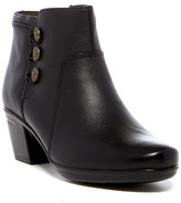 Clarks Emslie Monet Buttoned Ankle Boot - Wide Width Avaialble