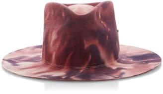 Nick Fouquet Midnight Mystic Tie-Dyed Felt Fedora