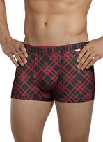 Jockey Mens Travel Microfiber Trunk Underwear Trunks polyamide