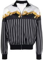 Versace pinstripe track jacket