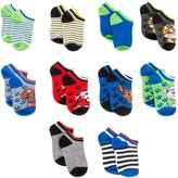 Nickelodeon Boys Socks Paw Patrol No Show 10 Pack