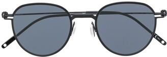 Montblanc Round Frame Sunglasses