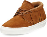 Clear Weather One-O-One Suede Mid-Top Moccasin Sneaker
