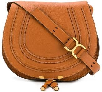 Chloé medium Marcie round saddle bag