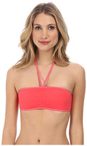 Marc by Marc Jacobs Solid Marc Billy Bandeau Halter Top