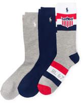 Ralph Lauren Shield Trouser Sock 3-Pack