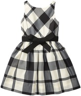 Polo Ralph Lauren Poly Taffeta Plaid Woven Dress (Little Kids)