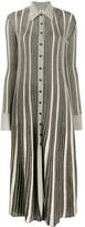 M Missoni striped shirt midi dress