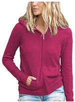 Parisbonbon Women's 100% Cashmere Hooded Cardigan Color
