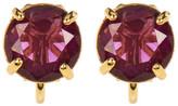 Carolee Round Stud Clip-On Earrings