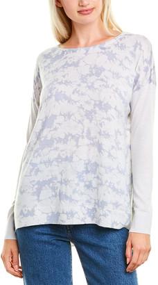 Forte Cashmere Printed Cashmere Pullover