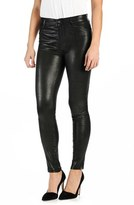 Paige Women's 'Hoxton' High Rise Ultra Skinny Leather Pants
