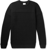 S.N.S. Herning Minder Textured-Knit Wool Sweater