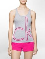 Calvin Klein Womens Color Logo Tank Top Underwear