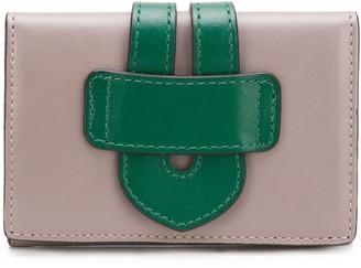 Tila March two-tone wallet