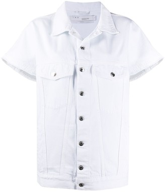 IRO Short-Sleeved Denim Jacket
