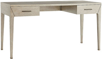 Arteriors Dublin Desk - Beige frame, gray; hardware, smoke