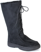 Bamboo Black Lace-Up Tahoe Boot