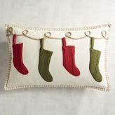 Pier 1 Imports Traditional Holiday Stockings Pillow