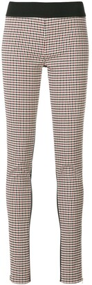 Stella McCartney Plaid Front Leggings