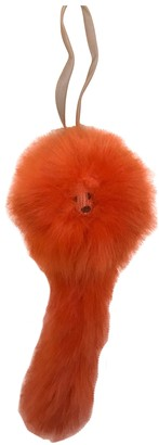 Shrimps Orange Faux fur Bag charms