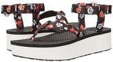 Teva Flatform Sandal Floral
