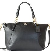Kate Spade Coach Pebble Leather Sm Kelsey Satchel - Black