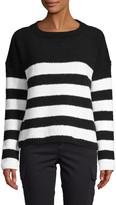 ATM Anthony Thomas Melillo Chenille Stripe Sweater