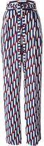 Marc Jacobs 'Arrow Head' print trousers - women - Triacetate/Polyester - 12