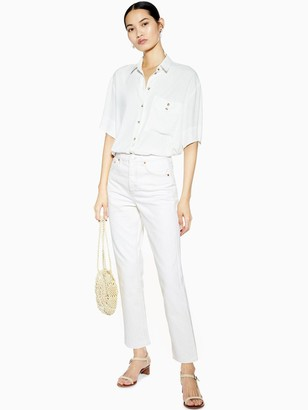 Topshop Editor Jeans - Off White