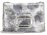 Roger Vivier Micro metallic leather shoulder bag