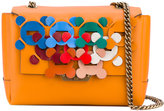 Anya Hindmarch embroidered shoulder bag - women - Leather - One Size
