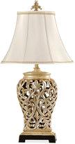 Stylecraft Open-Lace Scroll Table Lamp