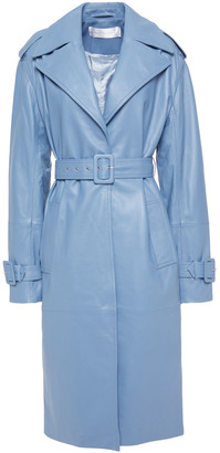 Victoria Victoria Beckham Leather Trench Coat