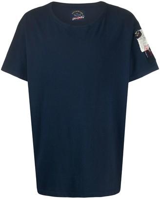 Paul & Shark logo embroidered T-shirt