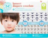 The Honest Company Boy Diapers Club pack, Anchors & Stripes + Skulls