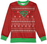 Superman DC Comics Holiday Sweater, Big Boys (8-20)