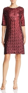 Betsey Johnson Sequined Shift Dress